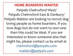 Home boarders wanted