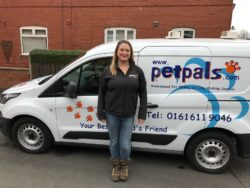 Claire Hurr owner of Petpals Stockport and Petpals Cheadle and Bramhall