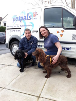 Lynda and Ian Parker, owners of Petpals Poynton and Petpals Stockport East
