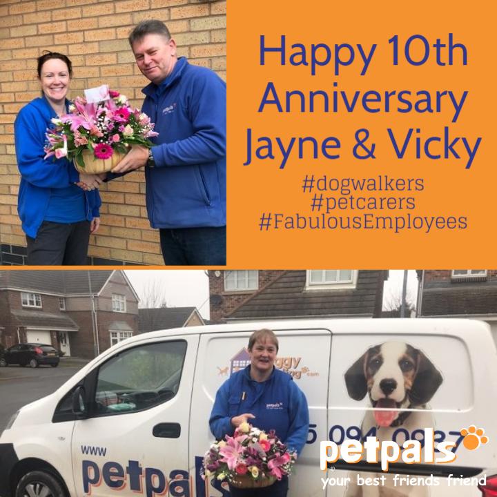Happy Anniversary Jayne and Vicky