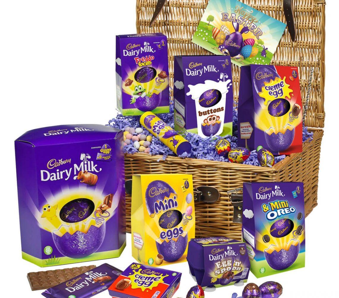 Win this huge hamper of Easter chocolate
