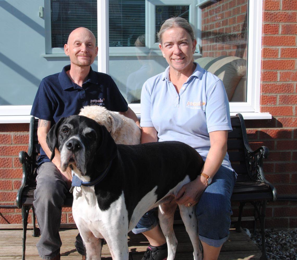 Phil & Bev Haydon owners of Petpals Chelmsford, Maldon and Danbury