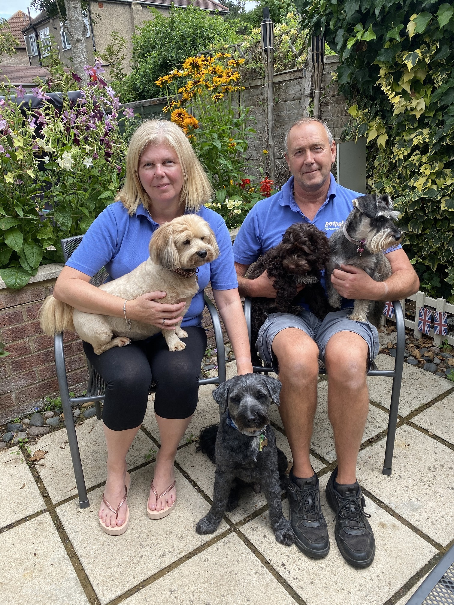 Ray and Sandra Hipwell, owners of Petpals Chislehurst